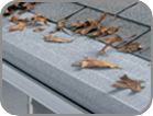 Patented design gutter protection